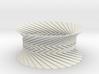 Bracelet HP 2 - Miura Origami Inspired Design 3d printed