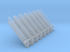 N Scale Stairs 13 (7pc) 3d printed