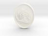 Fox Medallion 3d printed