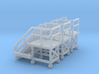 N Scale 3x Mobile Train Access Stairs 3d printed