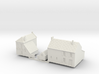 1:285-French Houses X2 3d printed