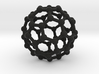 Buckyball C60 Molecule Model. 3 Sizes. 3d printed