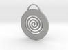Endless Cirkle pendant.  3d printed