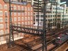 HO Scale PRR W-signal LATTICE 4 Track  W 2-3 PHASE 3d printed Bridge with functioning Catenary