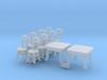 SET Thonet Nr.14 mit 8 Stühle und 2 Tische (N) 3d printed