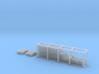 N Scale Modern Fence Set 3d printed