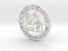 RCS Business Token 3d printed