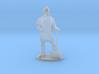 Dwarf Fighter Miniature 3d printed