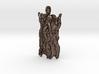 Tree bark pendant 3d printed