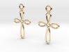 Celtic Weave Earrings - WE002 3d printed