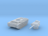 Panzer III L (Germany) 1/144 3d printed