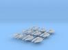 (Armada) 6x TIE Striker + 6x U-Wing 3d printed