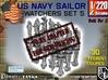 1/220 US Navy Watchers Set 5 3d printed