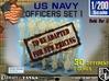 1-200 USN Officers Set 1 3d printed