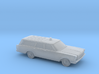 "1/160 1966 Ford Country Wagon ""FireChief"" 3d printed"