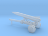 1/87 Scale Launce Missile Launcher Trailer 3d printed