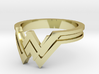 A Wonder Woman Ring 3d printed