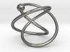 Hoop Knot Earring 3d printed