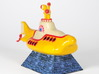 Yellow Submarine in Full Color Sandstone 3d printed