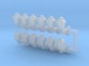 Street lamp 04. HO Scale (1:87) 3d printed