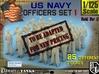1-125 USN Officers Set1 3d printed