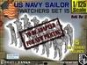 1-125 US Navy Watchers Set15 3d printed
