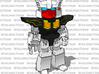 MiniBot - Database 3d printed