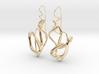 Delicate Drop Earings 3d printed