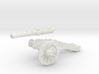 AF 24 Pounder french gun Seven Years War 28mm warg 3d printed