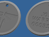 The Last of Us: Firefly pendant (Joe Warren) 3d printed dog tag front & back