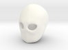 """Blank Face"" BJD head sculpting aid MSD size FRONT 3d printed"