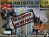 1-56 British Sand Channel Set 3d printed