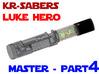 KR Luke Hero -  Master Chassis Part4 - Upper part 3d printed