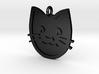 Cat Pendant 3d printed