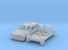 Mercedes-Benz W123 Taxi w/ open door (N 1:160) 3d printed