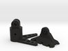 MavicPole: Mavic for pole Video & Photography 3d printed Render of the two pieces BLACK