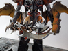 "TFP Voyager Beast King Tail/Sword Complete 3d printed Paint by <a href=""http://www.tfw2005.com/boards/radicons-customs/974634-tfp-predaking-incedius-shapeways-upgrades.html"">justdd on tfw2005</a>"