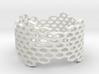 Honeycomb Band Ring 3d printed