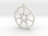 7 Pointed Star Pendant - Game of Thrones 3d printed
