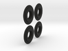 Dlux Knuckle Bolt Slider 2 pairs 3d printed