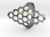 Fine Honey Comb Ring 3d printed