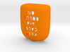 Keep Calm and Bolus On - Omnipod Pod Cover 3d printed