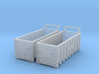 Steel Waster Container 01. N  Scale (1:160) 3d printed