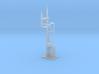 RH Inverted LQ Bracket Signal - Fine Detail HO 3d printed