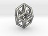 Bilinski Tesseract Pendant 3d printed