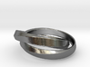 Mobius Dual Ring (Size 7) 3d printed