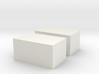 Strohballen Quader 1:120 3d printed