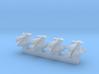 6mm Elvar Gun Platforms (4pcs) 3d printed