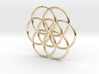 Flower of Life Seed Pendant Small 3d printed