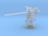 1/172 USN 3 inch 50 (7.62cm) Deck Gun 3d printed